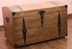 Купить деревянный сундук для вещей большой
