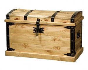Купить сундук деревянный напольный