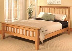 Деревянные кровати по своим размерам