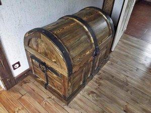 Сундук деревянный напольный в Москве