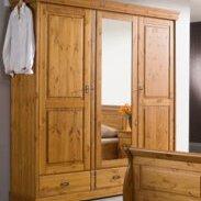 Шкаф с зеркальным для одежды