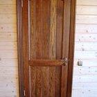 Дверь межкомнатная из сосны с коробкой