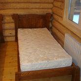 Кровать односпальная массив сосны
